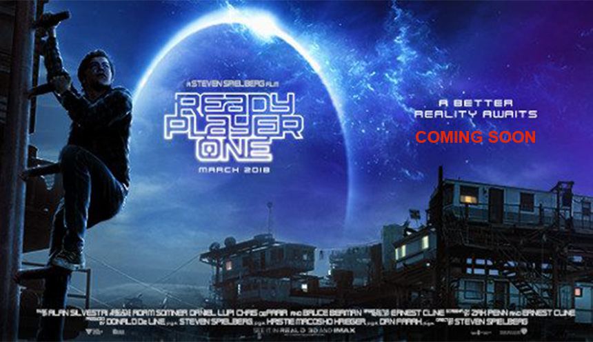 Ready Player One Coming Soon