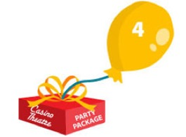 Casino Theatre Party Package 4